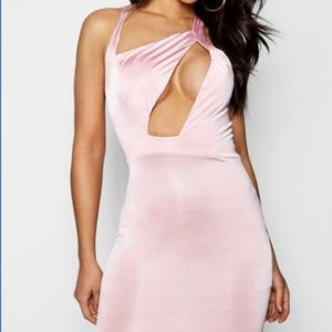 Boohoo Night - Brie Cut Out Minin Bodycon Dress